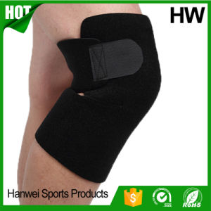 China Factory 2017 Orthopedic Black Style Neoprene Knee Support (HW-KS031) pictures & photos