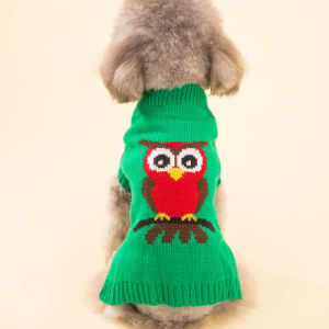 Design Cute Quality Knitting Christmas Dog Sweater Pet Dress pictures & photos