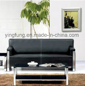 Modern Style Waiting Room PU Leather Office Sofa (SF-6018) pictures & photos