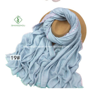 New Design Colors Rayon Shawl Lady Fashion Scarf pictures & photos