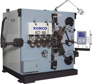 KCMCO-KCT-680 8mm 6 Axis CNC Compression Spring Coiling Machine&Big Wire Size Car Spring Coiling Machine pictures & photos