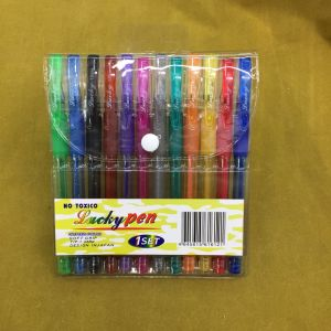 24 Colors Glliter Pen Set (#108) , Gel Ink Pen pictures & photos