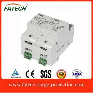 China Market Type 1+2 1000VDC Lightning Surge Arrester SPD Supplier pictures & photos