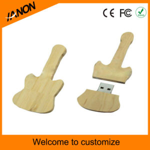Bamboo Guitar USB Flash Memory Stick Wooden USB Flash Drive pictures & photos