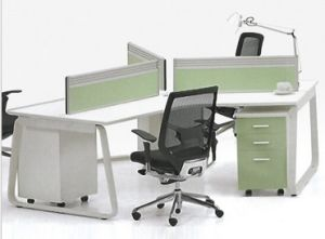 Melamine Furniture Workstation Office Partition Wall (HX-NCD308) pictures & photos
