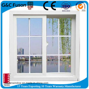 Large Aluminum Sliding Window with Mesh pictures & photos