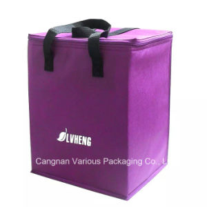 Big Capacity Non Woven Insulated Cooler Bag, Carrier Bag, Food Bag pictures & photos