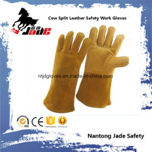 Cowhide Leather Industrial Welding Safety Work Glove pictures & photos