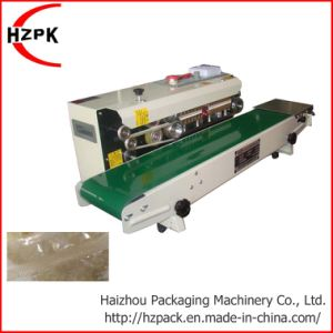 Automatic Continuous Band Sealer Band Sealing Machine Fr-770 pictures & photos