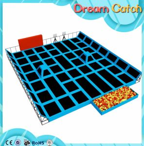 Entertainment Park Trampoline Plastic with Slide pictures & photos