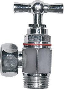 Hing Male Thread Brass Ball Valve (Can be chrome plated) pictures & photos
