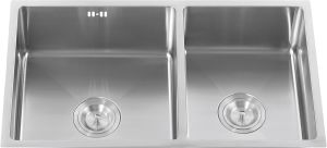 S2101u Undermount Stainless Steel 304# Double Bowls Sink pictures & photos