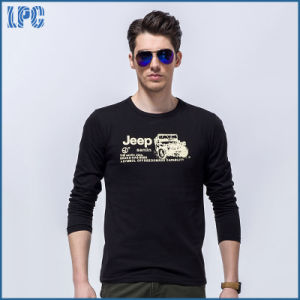 High Quality Brand 100% Combed Cotton Print Men T Shirt pictures & photos
