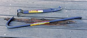 High Quality 45# Cold Rolled Steel Hexagonal Crowbar Spud Bar pictures & photos