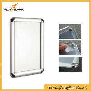 Round Corner Aluminium Exhibition Snap Frame/Clip Frame pictures & photos