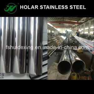 Round Mirror Polish Stainless Steel Tube pictures & photos