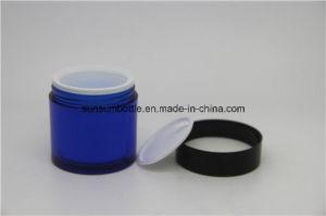 Blue Design Skin Care Pet Cream Jar with Plastic Packaging pictures & photos