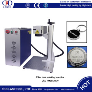 20W Laser Marking Machine for Soft Rubber Keychain pictures & photos