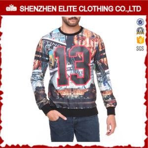 Wholesale Raglan Sleeve 3D Sublimation Custom Printed Sweatshirt Men (ELTSTJ-373) pictures & photos