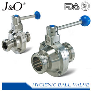 Sanitary Clamp End Butterfly Type Ball Valve pictures & photos