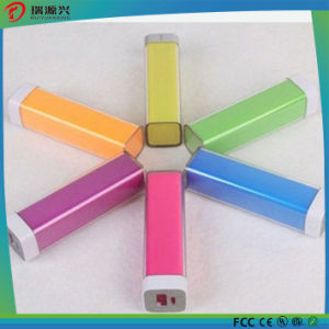Colorful Lipstick Power Bank 2200 mAh with Customize Logo Printing pictures & photos
