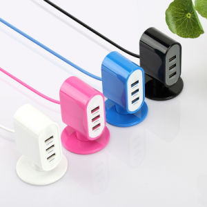 3-Port High Speed USB Charger Universal Charging Station Mobile Charger pictures & photos