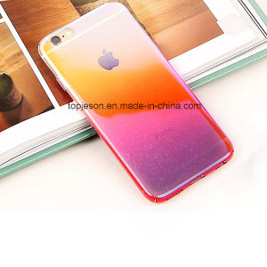 Hot Sale Sparkle Gradual Anti-Shock Cell Phone Case for iPhone 7/7 Plus pictures & photos
