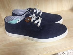 Canvas Shoe Rubber Sole Cotton Lining Shoes /Fashion Shoes pictures & photos