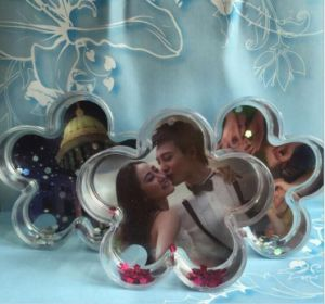 Good Quality Custom Plastic Photo Water Snow Globe pictures & photos