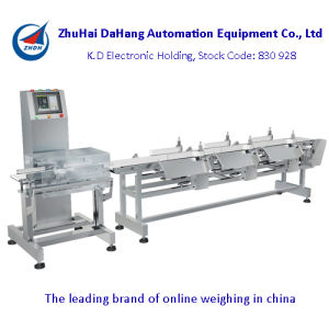 Weight Sorting Machine/ Dahang Checkweigher Machine pictures & photos