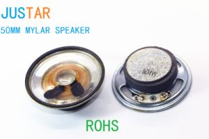 50mm Mylar Cone Speaker 4-16ohm 1-3W with RoHS pictures & photos