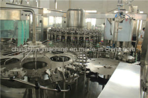 Automatic Juice Liquid Filling Capping Equipment with PLC Control pictures & photos