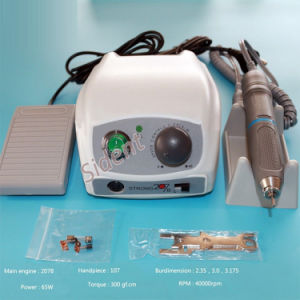 Dental Lab Saeshin Strong 207b+107 40000 Rpm Micro Motor Polisher Handpiece Vep pictures & photos
