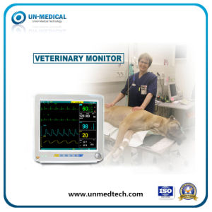 Veterinary Patient Monitor for Clinic with 12 Inch Screen pictures & photos