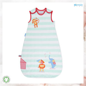 Stripe Printing Baby Wear Gots Babies Sleeping Bag pictures & photos