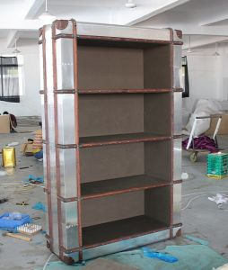 Home Office Furniture Antique Aluminum Bookcase, Book Cabinet, Book Shelf Rtk-58 pictures & photos