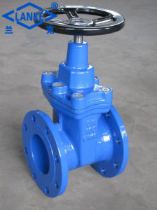 Non-Rising Stem Resilient Seated Gate Valve with Flange End (Z41) pictures & photos
