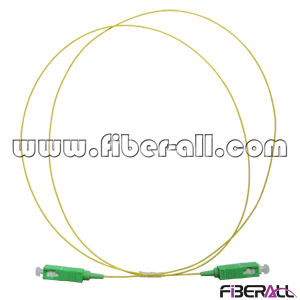 Sc APC to Sc APC 0.9mm Buffered Fiber Patch Cord pictures & photos
