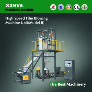 Xinye High Speed Film Extruder Blowing Machine pictures & photos