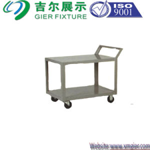 Metal Hand Trolley for Stand (GDS-TR04) pictures & photos