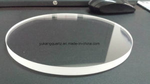Polished Rectangular Quartz Glass Plate with Round Corners pictures & photos