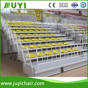 Tiered Seating Hire Gym Bleacher Audiance Seating Bleachers Seats Bleachers Jy-706 pictures & photos