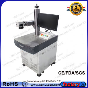 30W Table Fiber Laser Printing Machine with Double DOT Positioning pictures & photos
