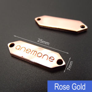 Custom Clothing Label Maker/Custom Metal Labels for Clothing/Metal Garment Logo pictures & photos
