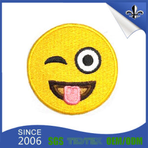Personalized Garment Accessories 100% Polyester Fabric Embriodery Patch pictures & photos