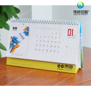 Desk Paper Printing Calendar (with Varnish) pictures & photos