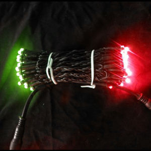 Double Colors Christmas LED Colorful String Lights pictures & photos