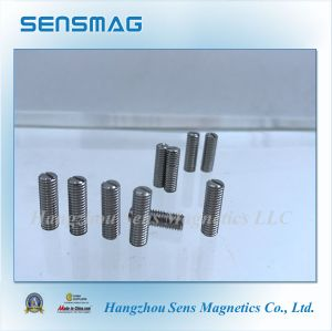 Manufacture Permanent AlNiCo Pickup Magnet in Stock pictures & photos