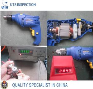 Professional Quality Control and Inspection Service in China-Electric Hardware Tools
