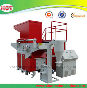 Single Shaft Plastic Shredder for Big Diameter HDPE Pipe PVC Pipe pictures & photos